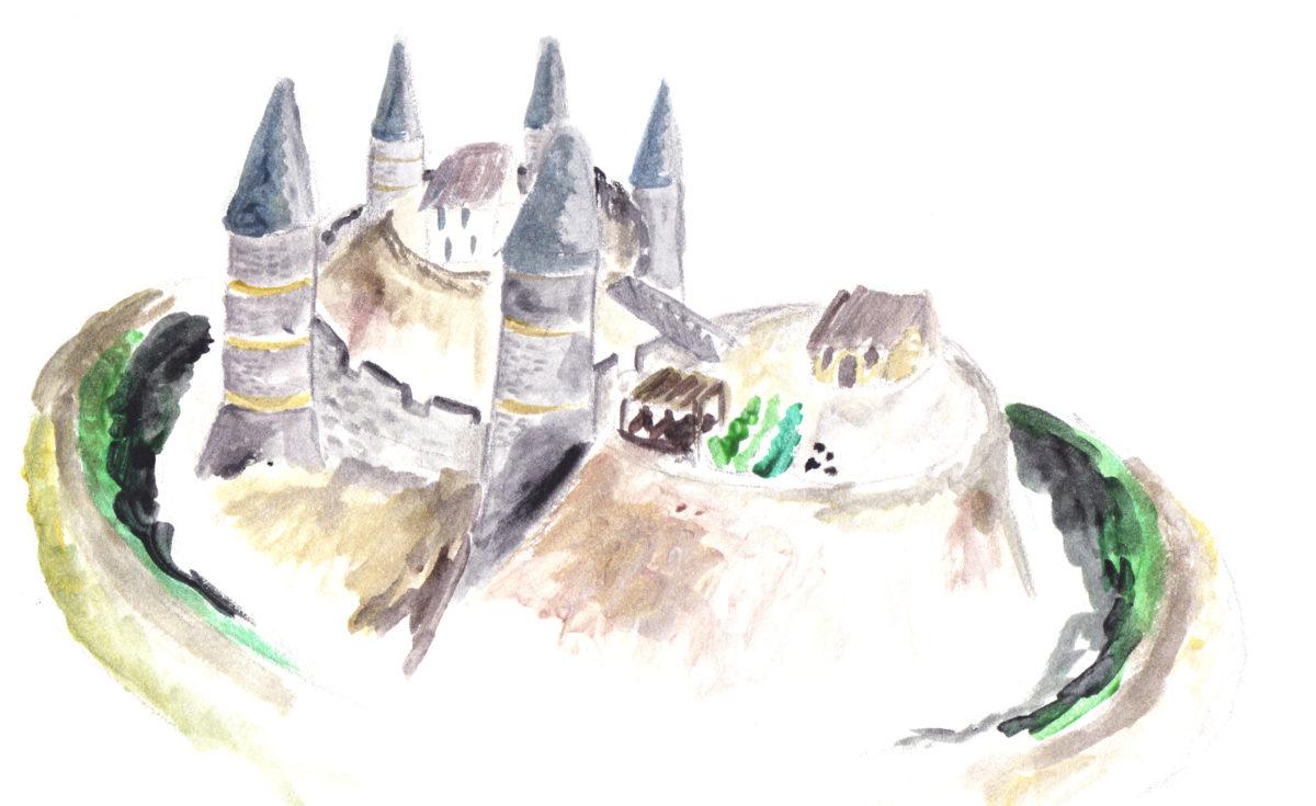 Marcillé-Raoul, un château médiéval provisoire